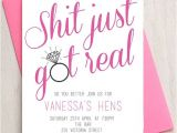 Hen Party Poems for Invites Hens Bachelorette Invitation Diy Printable Invitation