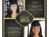 High School Graduation Invitations 2015 13 Best Images About Twin Graduation Announcements On