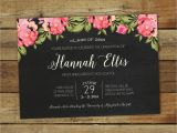 High School Graduation Open House Invitations 2017 Graduation Party Invitation Floral Graduation Open House
