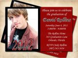 High School Graduation Party Invitation Etiquette Graduation Announcement Grad Party Invitation by Akiss This
