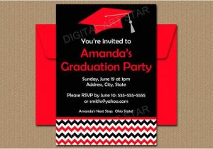 High School Graduation Party Invites 28 Examples Of Graduation Invitation Design Psd Ai