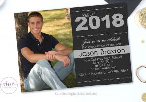 High School Graduation Party Invites Graduation Invitation Graduation Party Invitations High