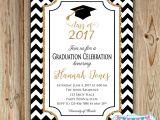 High School Graduation Party Invites Graduation Party Invitation College Graduation Invitation