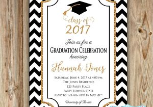 High School Graduation Party Invites Graduation Party Invitation College Graduation Invitation