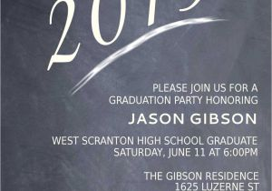High School Graduation Party Invites Printable Graduation Party Invitation Graduation Announcement