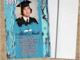 High School Graduation Photo Invitations High School Graduation Invitations Boys Printable or Prints