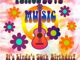 Hippie Party Invitations Hippie Birthday Invitation Tie Dye Invitation 60s