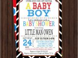 Hipster Baby Shower Invitations Baby Shower Invitation Boys Hipster Circus Black Chevron