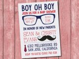 Hipster Baby Shower Invitations Hipster Baby Shower Invitation 15 Pack