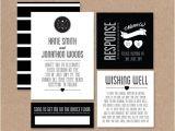 Hipster Bridal Shower Invitations Modern Wedding Invitation Hipster Wedding Invite Simple