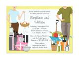 His and Hers Bridal Shower Invitations His and Hers Wedding Shower Invitation