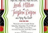 Holiday Bridal Shower Invitations Christmas Bridal Shower Invitation Holiday Open by