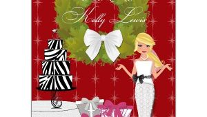 Holiday Bridal Shower Invitations Christmas Bride Bridal Shower Invitations Paperstyle