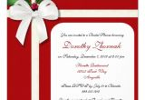 Holiday Bridal Shower Invitations Holiday Custom Bridal Shower Invitation Zazzle