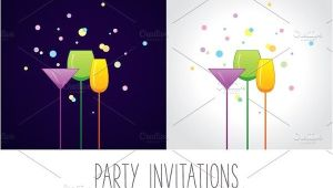 Holiday Cocktail Party Invitation Template 9 Cocktail Party Invitations Psd Eps or Ai format
