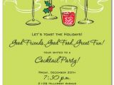 Holiday Cocktail Party Invitation Template Holiday Cocktail Party Invitation Wording Free Design