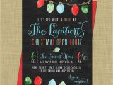 Holiday Open House Party Invitations Christmas Christmas Open House Holiday Open House Party Holiday