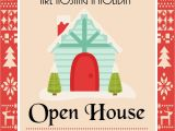 Holiday Open House Party Invitations Christmas Diy Printable Holiday Open House Christmas Party Invitation