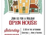 Holiday Open House Party Invitations Christmas Home for the Holidays Invitation Christmas Invitations