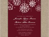 Holiday Party Invitation Etiquette Fabulous Sparkle Red Wedding Invitations for Christmas and