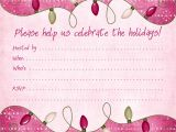 Holiday Party Invitation Pictures Winter Printable Party Kits