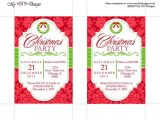 Holiday Party Invitation Templates Publisher Christmas Invitation Template