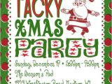Holiday Party Invite Poem Tacky Christmas Party Invitation Poem Idea Grab All Your