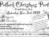 Holiday Potluck Party Invitation Wording Office Potluck Invitation Wording Samples