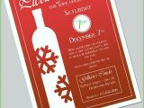 Holiday Wine Tasting Party Invitations Holiday Wine Tasting Invitation by Neverstopcelebrating On