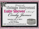 Hollywood Baby Shower Invitations Baby Shower Invitation New Hollywood Baby Shower