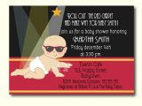 Hollywood Baby Shower Invitations Hollywood Baby Shower Invitation Celebrity Babies Little
