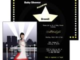 Hollywood Baby Shower Invitations Redcarpet Hollywood Baby Shower Invitations Choice Of