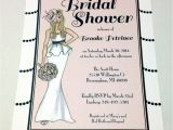 Hollywood Bridal Shower Invitations Bridal Shower Invitation Handmade Gatsby Old Hollywood