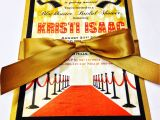 Hollywood Bridal Shower Invitations Enchanted Expectations Hollywood theme Bridal Shower