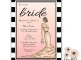 Hollywood Bridal Shower Invitations Items Similar to Old Hollywood Bridal Shower Invitations