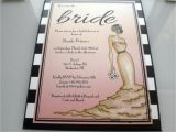 Hollywood Bridal Shower Invitations Old Hollywood Onepaperheart Stationary Invitations