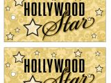 Hollywood Party Invites Printable Bnute Productions Printable Hollywood Glamour Party