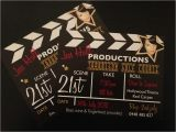 Hollywood theme Party Invites Hollywood Invitations Designs by Brea