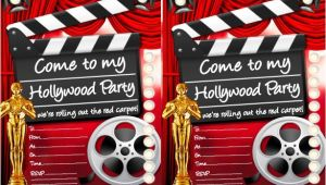 Hollywood theme Party Invites Hollywood Party Ideas Goodtoknow