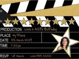 Hollywood themed Birthday Party Invitations Hollywood theme Party and the Items to Get for It Home