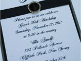 Homemade 50th Birthday Invitation Ideas Best 25 50th Birthday Invitations Ideas On Pinterest