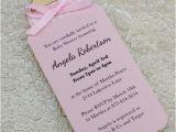 Homemade Baby Shower Invitations for Girls Diy Bottle Baby Shower Invitation Template for Baby Girl