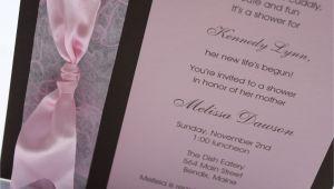 Homemade Baby Shower Invitations for Girls Homemade Baby Shower Invitations Google Search