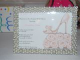 Homemade Bridal Shower Invitation Ideas Homemade Bridal Shower Ideas