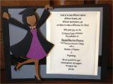 Homemade Graduation Party Invitations Ideas Handmade Custom Graduation Invitation or Announcement