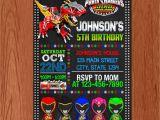 Homemade Power Ranger Birthday Invitations 12 Luxury Power Rangers Birthday Card Best Birthday