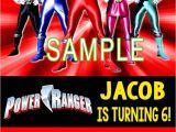 Homemade Power Ranger Birthday Invitations Green Power Ranger Birthday Card Archives Best Birthday
