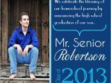 Homeschool Graduation Invitations Parents Quotes for High School Senior Announcement Quotesgram