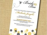 Honey Bee Bridal Shower Invitations Bride to Bee Printable Bridal Shower Invitation