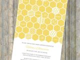 Honey Bee Bridal Shower Invitations Honey B Baby Shower Invitation Bee themed Shower Digital